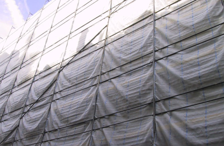 Dust protection nets 130 g/m²
