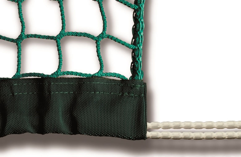 Reinforced seams and net weighting