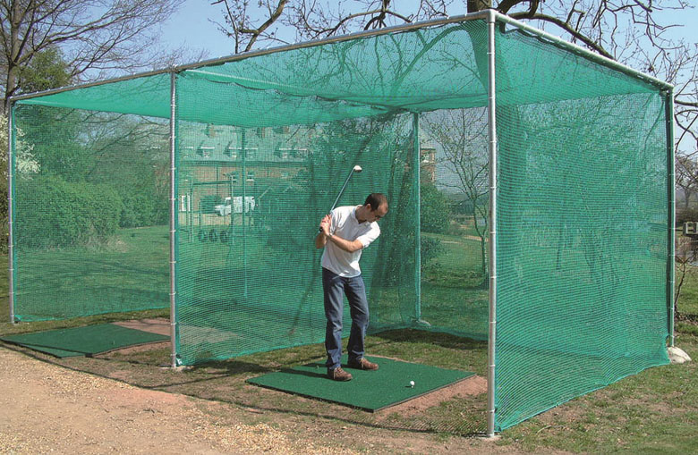 Golf cage nets
