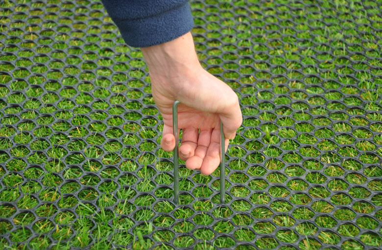 Lawn protection nets Netten