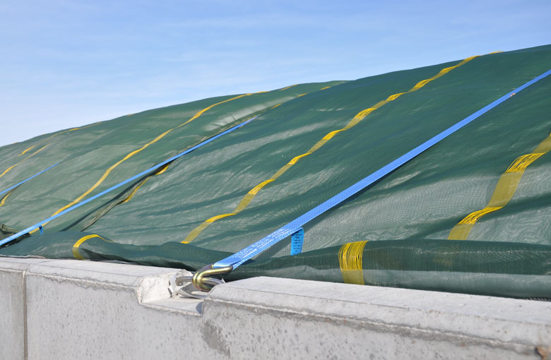 Silage protection nets